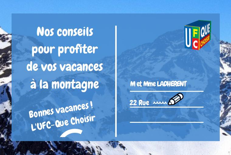 VACANCES D'HIVER – NOS CONSEILS