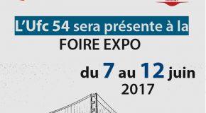 L'Ufc 54 participe à la Foire expo 2017